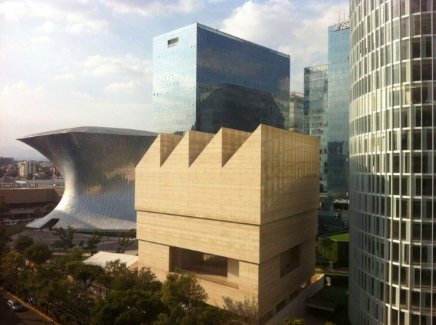 Museu Jumex, projetado por David Chipperfield, na Cidade do México