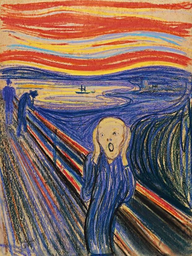'O Grito', tela de Edvard Munch, vendida por US$ 120 milhões