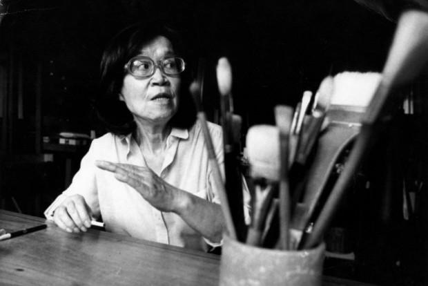 A artista plástica Tomie Ohtake, morta nesta quinta, aos 101 anos