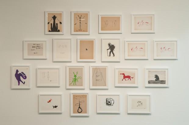 Desenhos de Beom Kim, na Bienal de Charjah