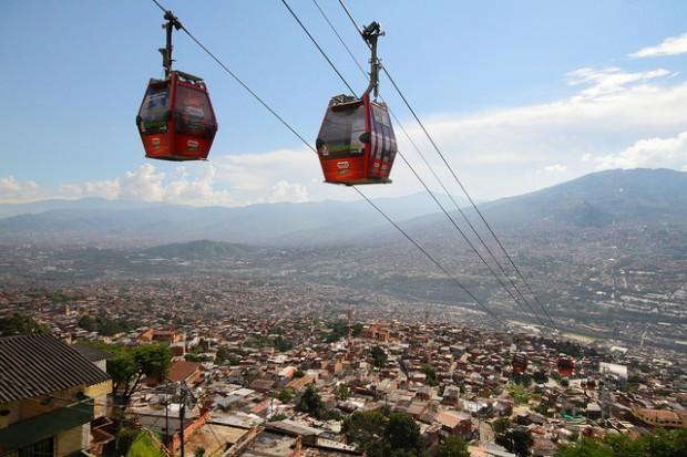 Teleféricos de Medellín, que já recebeu Bienal Ibero-Americana de Arquitetura e Urbanismo