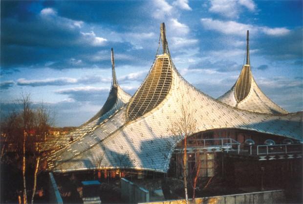 Pavilhão da Expo 67, obra de Frei Otto de 1967, em Montréal