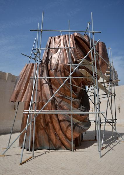 Instalação de Danh Vo na Bienal de Charjah