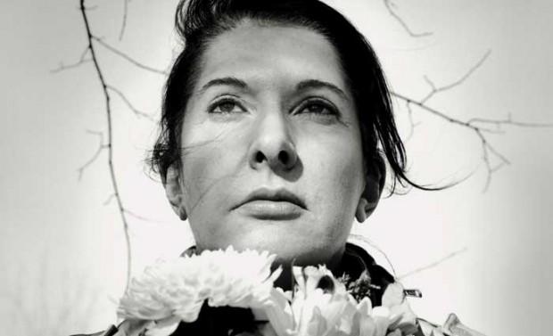 A artista sérvia Marina Abramovic