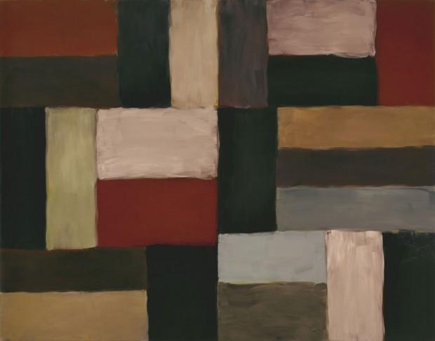 Obra do artista irlandês Sean Scully, que ganha mostra na Pinacoteca do Estado, em São Paulo