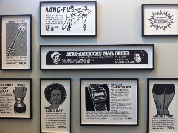 Instalação do norte-americano Hank Willis Thomas, na galeria Goodman, na SP-Arte