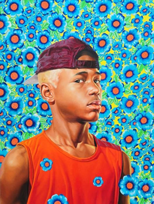 'Randerson Romualdo Cordeiro', tela de Kehinde Wiley, agora em mostra no Brooklyn Museum, em Nova York