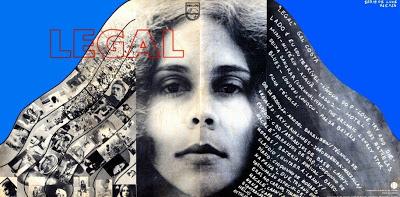 Capa de Hélio Oiticica para disco 'Legal', lançado por Gal em 1970