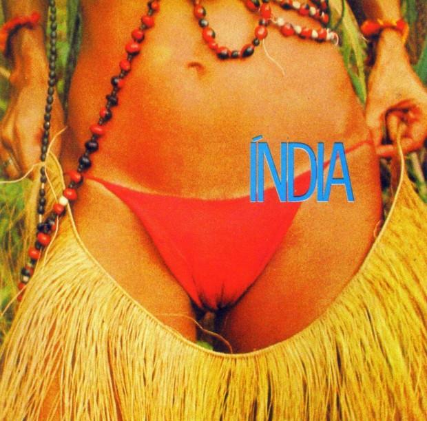 Capa de Edinízio para o disco 'Índia', lançado por Gal em 1973