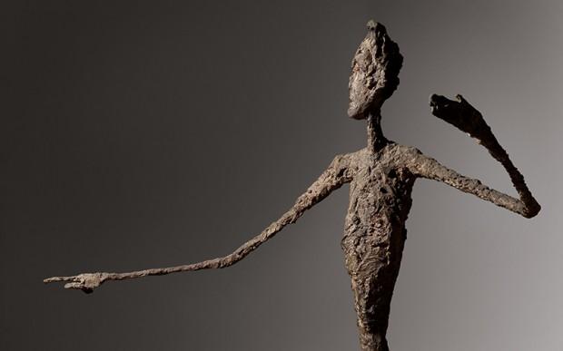 'O Homem Apontando', de Alberto Giacometti