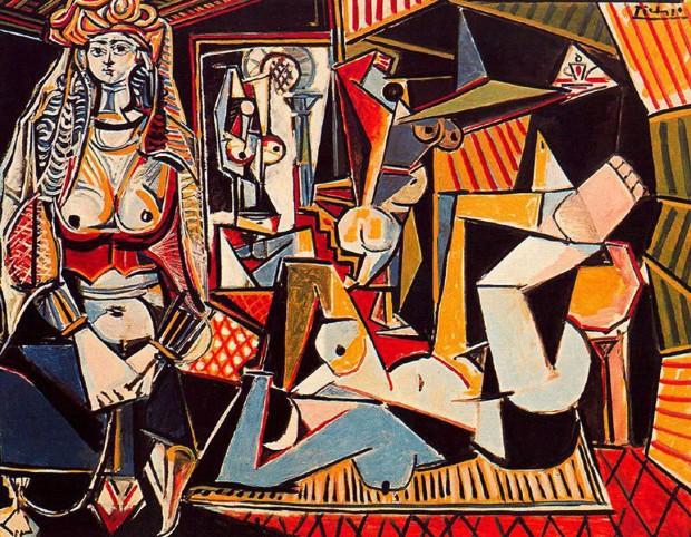 'As Mulheres de Argel (Versão 'O')', de Pablo Picasso