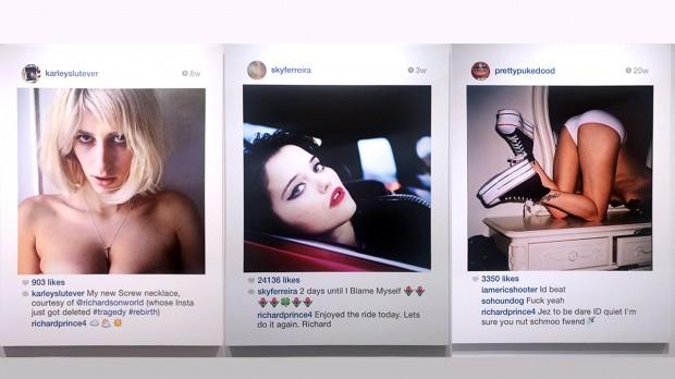 Imagens do Instagram da nova série de Richard Prince