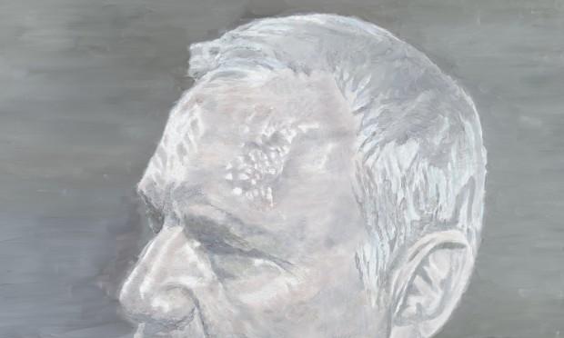 'Um Político Belga', pintura de Luc Tuymans