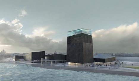 Projeto da firma Moreau Kusunoki para novo Guggenheim em Helsinque