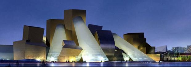 Projeto de Frank Gehry para o Guggenheim em Abu Dhabi