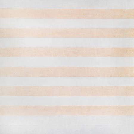 Tela de Agnes Martin em sua retrospectiva na Tate Modern, em Londres