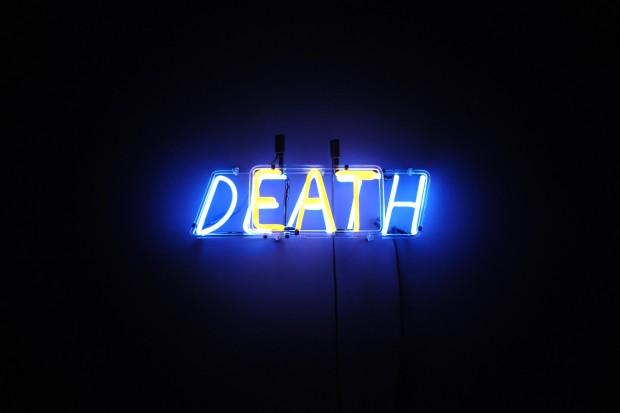 Neon de Bruce Nauman agora na Bienal de Veneza