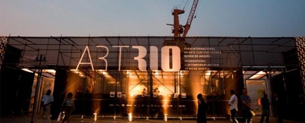 Pier Mauá, na zona portuária carioca, onde acontece a feira ArtRio