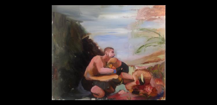 Obra de Daniel Lannes, que a galeria Baró leva à Arco