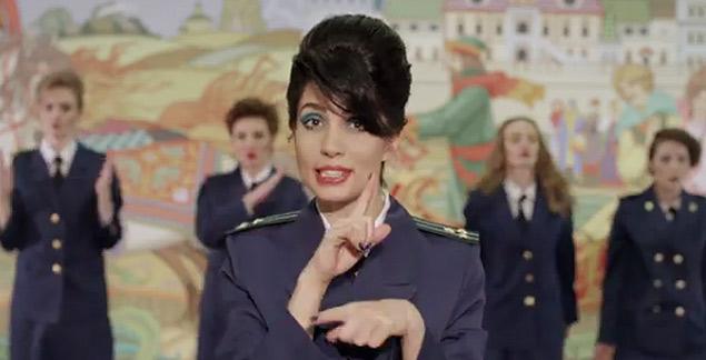 Cena do vídeo 'Chaika', das Pussy Riots