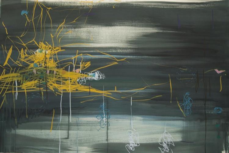 'Night Sparkle', obra de Janaina Tschäpe que a Fortes Vilaça leva à feira