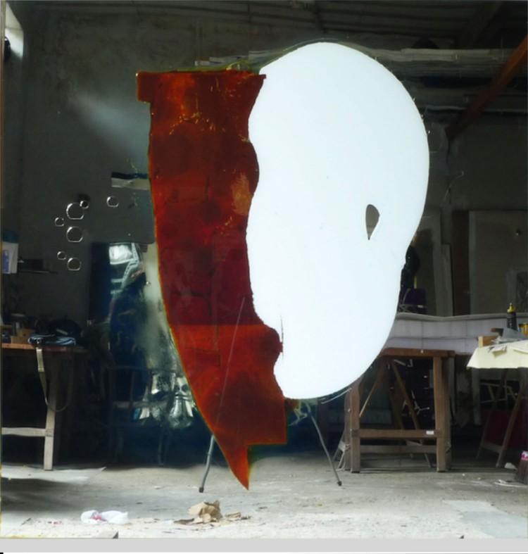 Obra de Carlito Carvalhosa, que a Nara Roesler leva à Armory