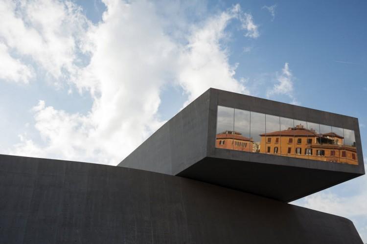 Museu de Arte do Século 21, obra de Zaha Hadid em Roma