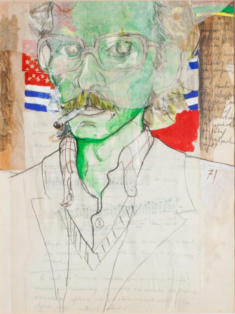 Obra de Antonio Benetazzo, no Centro Cultural São Paulo