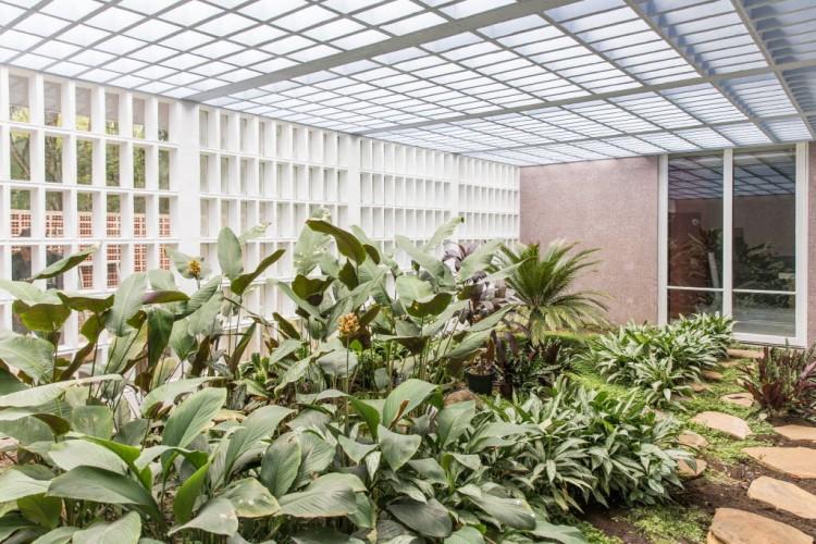 Vista da nova sede da galeria Luciana Brito