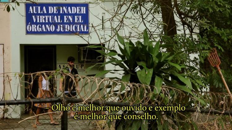 Cena do vídeo 'A Quinta Renda', de Pedro Victor Brandão, agora no Sesc Consolação